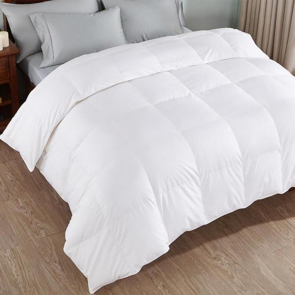Peace Nest 100 Cotton White King Goose Comforter-dc-18003- - Home Depot