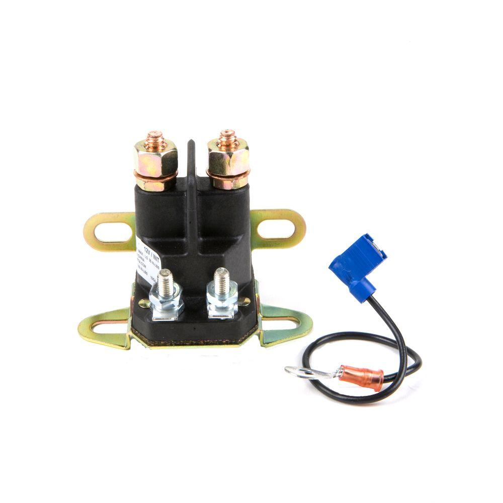 wiring diagram for cub cadet zero turn mower how does a water softener work 12-volt universal lawn tractor solenoid-490-250-0013 - the home depot