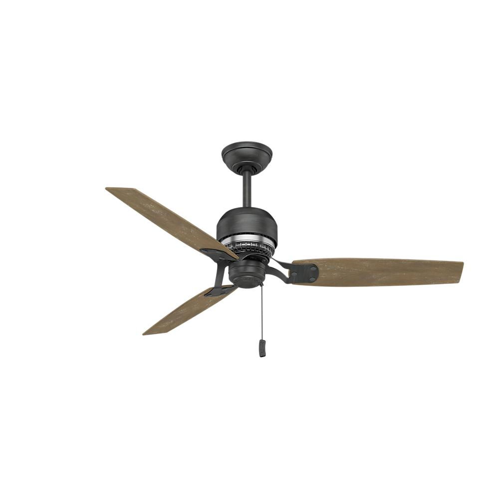 medium resolution of indoor aged steel ceiling fan