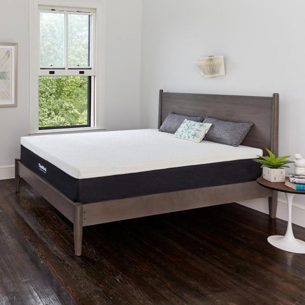 Cool Gel King-size 12 In. Memory Foam Mattress-410079-1160 - Home Depot