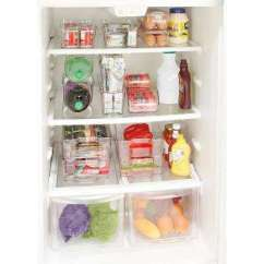 Kitchen Pantry Storage Paint Colors For Walls Organizers Organization The Home Depot Clear Slim Refrigerator Shelf Organizer