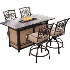 Bar Height Tables And Chairs Shower Chair With Arms Cvs Patio Dining Sets Furniture The Home Depot Traditions