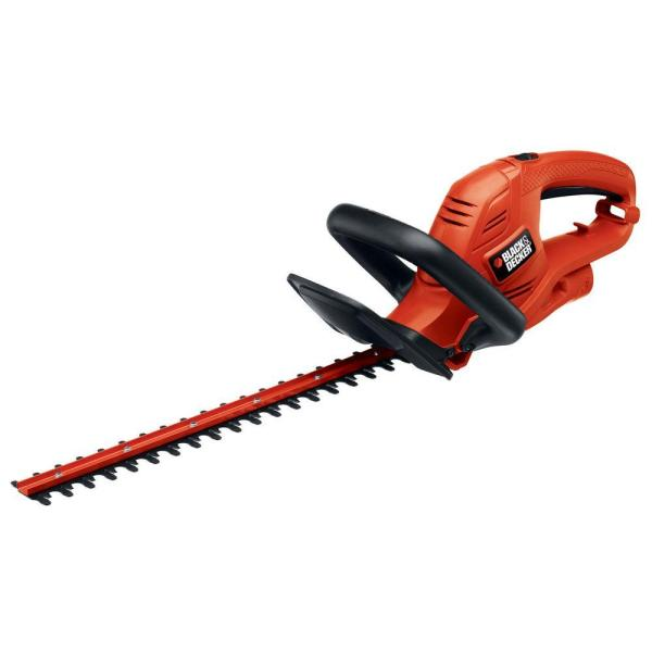 Black Decker 18 In. 3.5 Amp Corded Electric Hedge Trimmer-ht18 - Home Depot