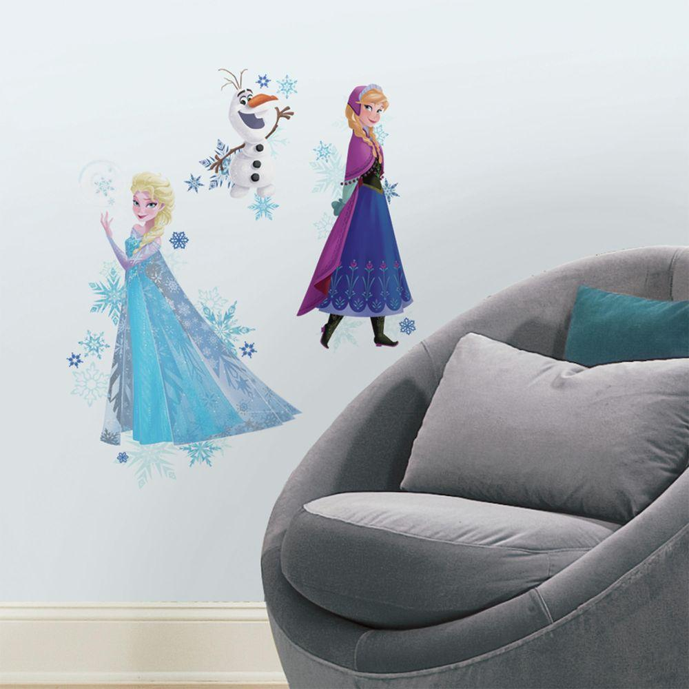roommates in x in frozen anna elsa and olaf peel and stick
