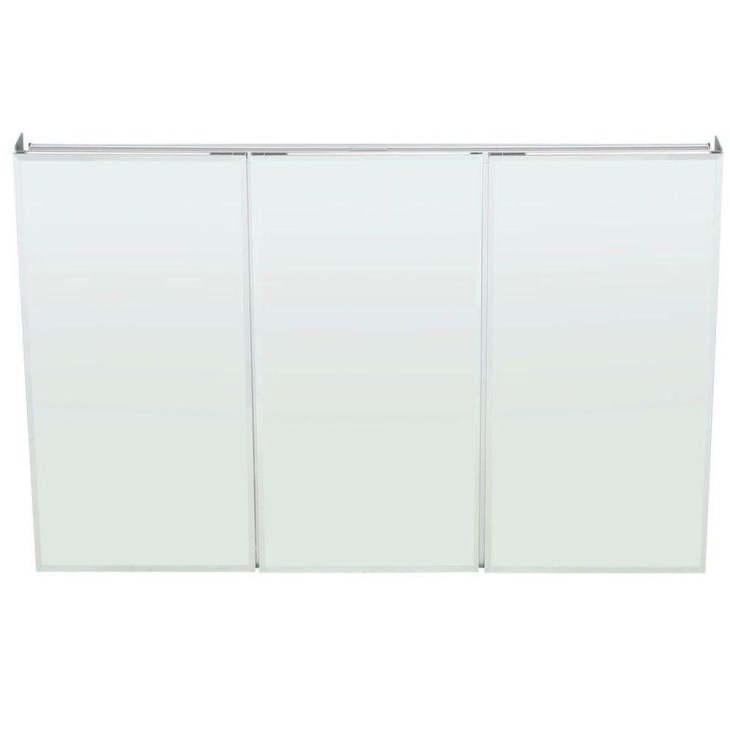 Pegasus 48 in. W x 31 in. H Frameless Recessed or Surface-Mount