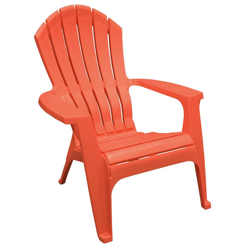 RealComfort Carnival Resin Plastic Adirondack Chair8371