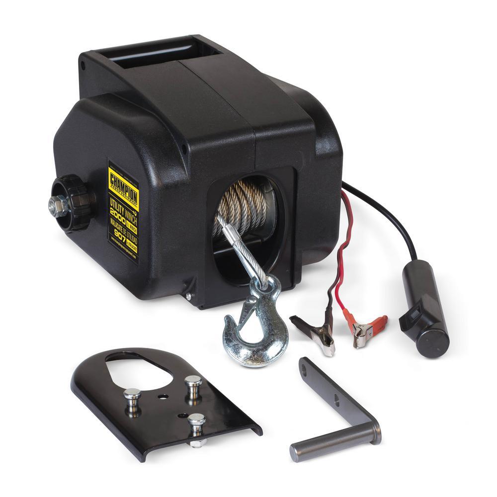 medium resolution of power equipment utility winch kit
