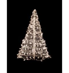 indoor outdoor pre lit incandescent artificial christmas tree with white [ 1000 x 1000 Pixel ]