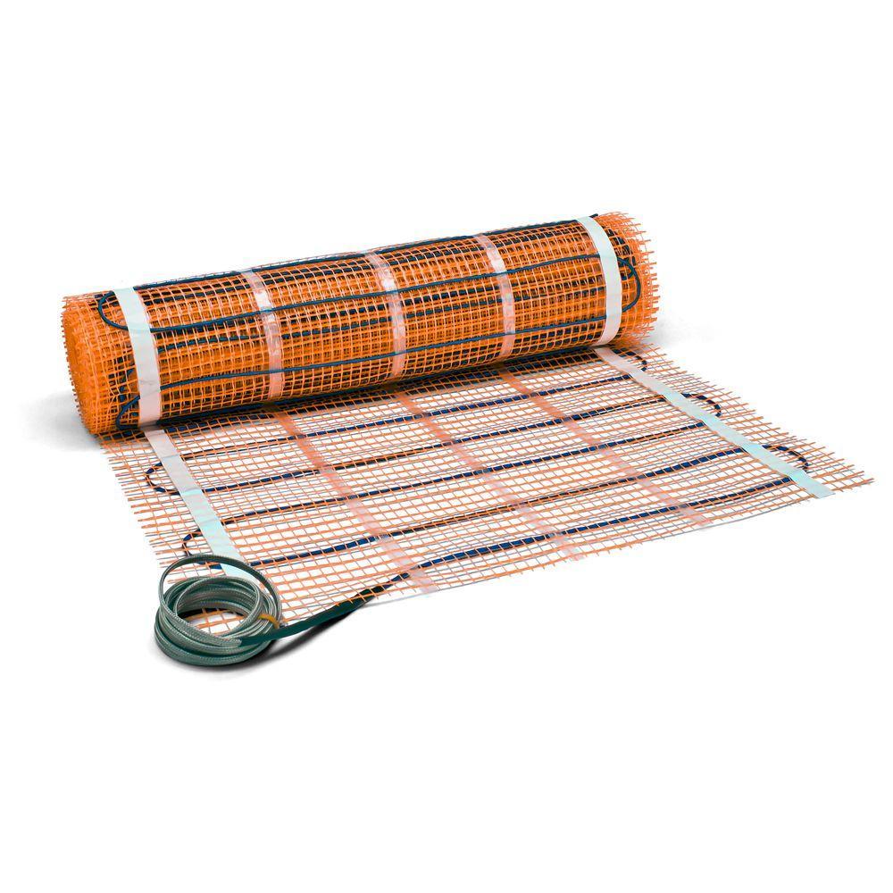 40 sqft electric tile radiant warm
