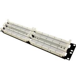 cat 5e 110 style wiring block rack mount ivory 200 pair  [ 1000 x 1000 Pixel ]