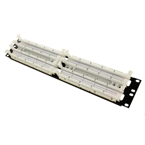 small resolution of cat 5e 110 style wiring block rack mount ivory 200 pair