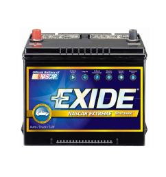 extreme 12 volts lead acid 6 cell 24f group size 800 cold cranking amps auto battery [ 1000 x 1000 Pixel ]