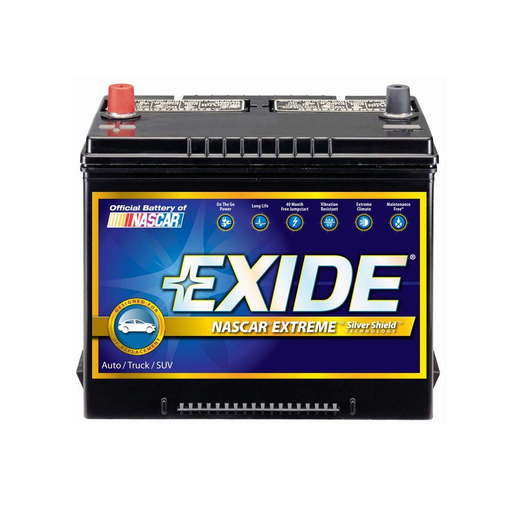 medium resolution of exide extreme 12 volts lead acid 6 cell 24f group size 800 cold cranking amps