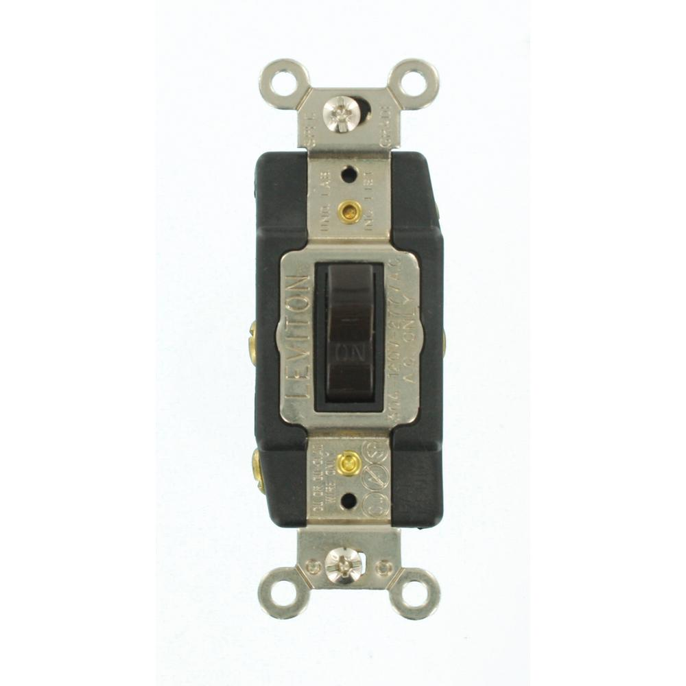 medium resolution of 30 amp industrial grade heavy duty double pole double throw center off maintained contact toggle switch brown