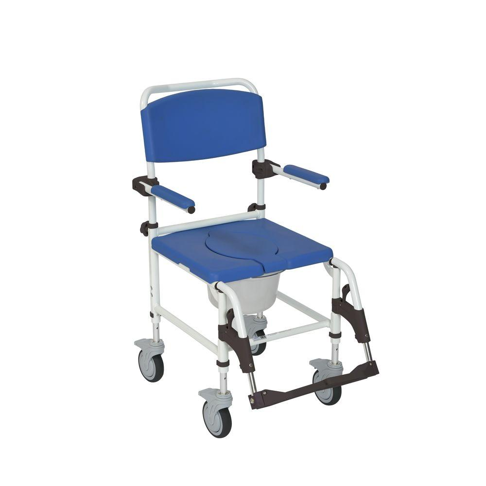 transport wheel chair upholstered rocking chairs for nursery drive aluminum shower commode mobile wheelchair nrs185007