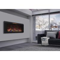 Northwest 35 in. Stainless Steel Electric Fireplace with