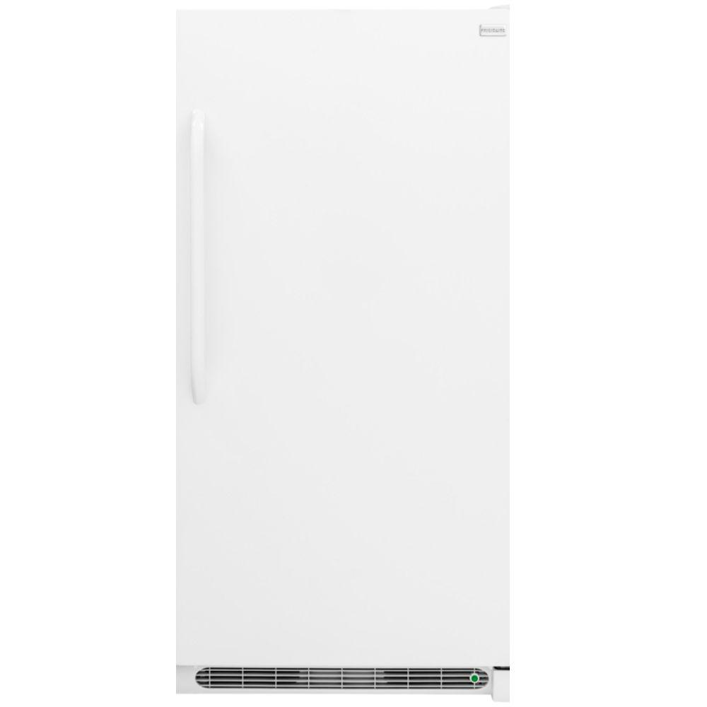 medium resolution of frost free upright freezer in white energy star