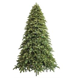 just cut noble fir ez light artificial christmas tree with 1000 color [ 1000 x 1000 Pixel ]