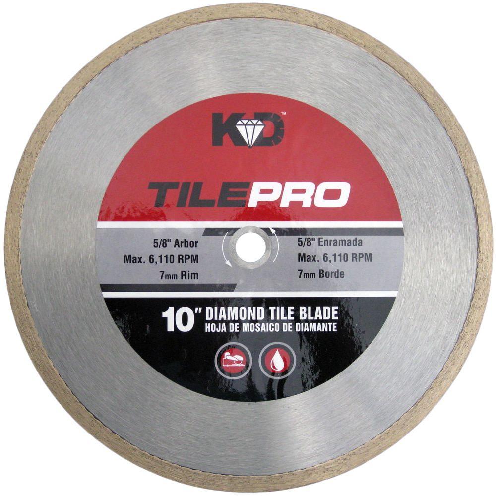 10 inch Diamond Tile Circular Wet Saw Blade Cutting