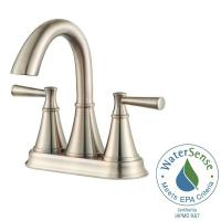 Pfister Cantara 4 in. Centerset 2-Handle Bathroom Faucet ...