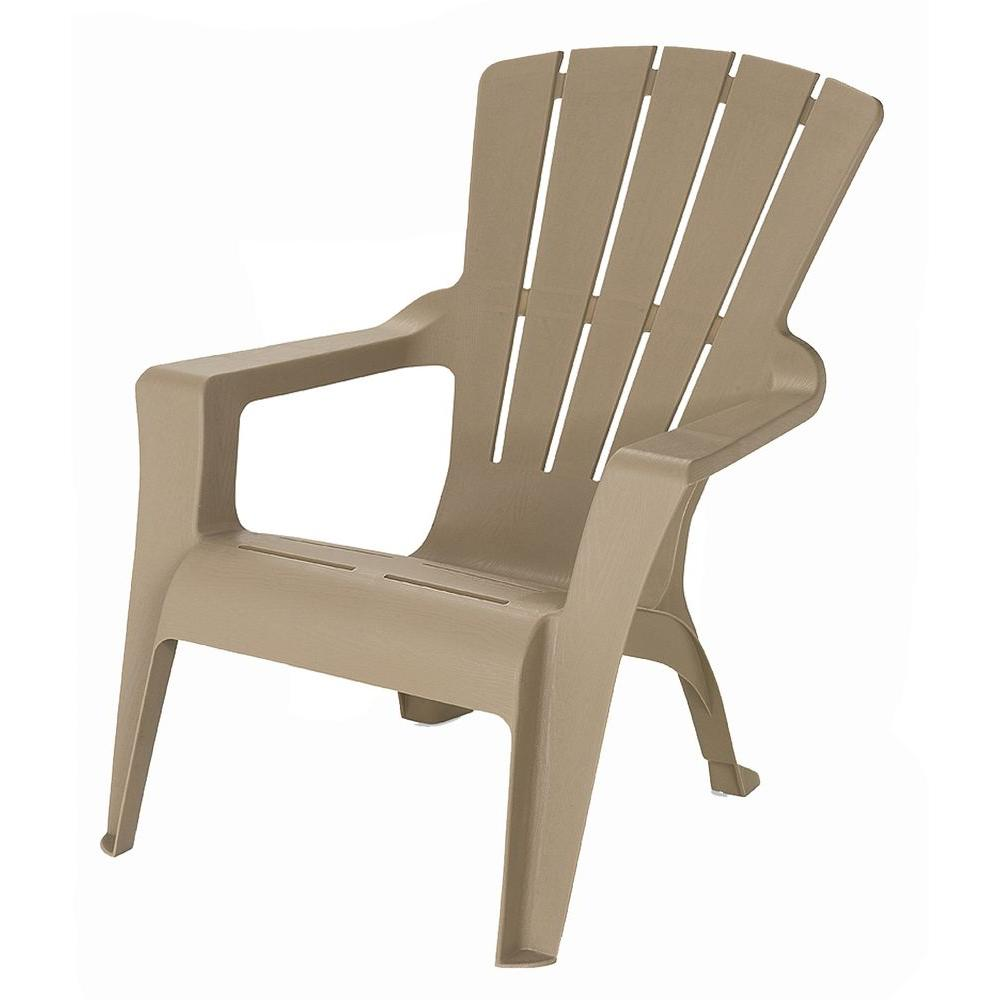 cheap plastic adirondack chairs home depot outdoor rocking chair canada unbranded mushroom patio 232983 the