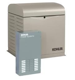kohler 12 000 watt air cooled standby generator with 100 amp 12 circuit load center [ 1000 x 1000 Pixel ]