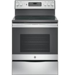 ge 30 in 5 3 cu ft electric range with self cleaning convection [ 1000 x 1000 Pixel ]