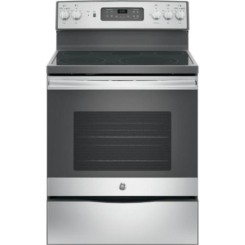 small resolution of ge 30 in 5 3 cu ft electric range with self cleaning convection