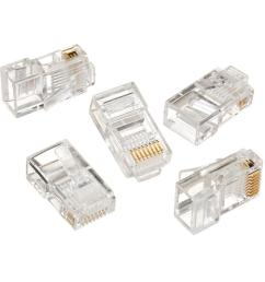 rj 45 8 position 8 contact category 5e modular plugs 25 per [ 1000 x 1000 Pixel ]