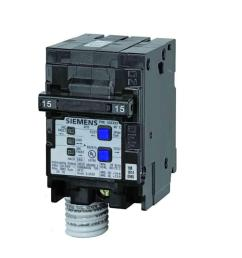 siemens 15 amp double pole type qaf combination afci circuit breaker [ 1000 x 1000 Pixel ]