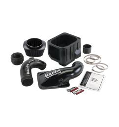 ram air intake system with dry filter for 2004 2005 chevrolet gmc 6 6 l duramax diesel lly engine [ 1000 x 1000 Pixel ]