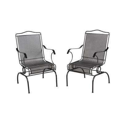 wrought iron chair ikea lounge outdoor patio chairs furniture the home depot jackson action 2 pack