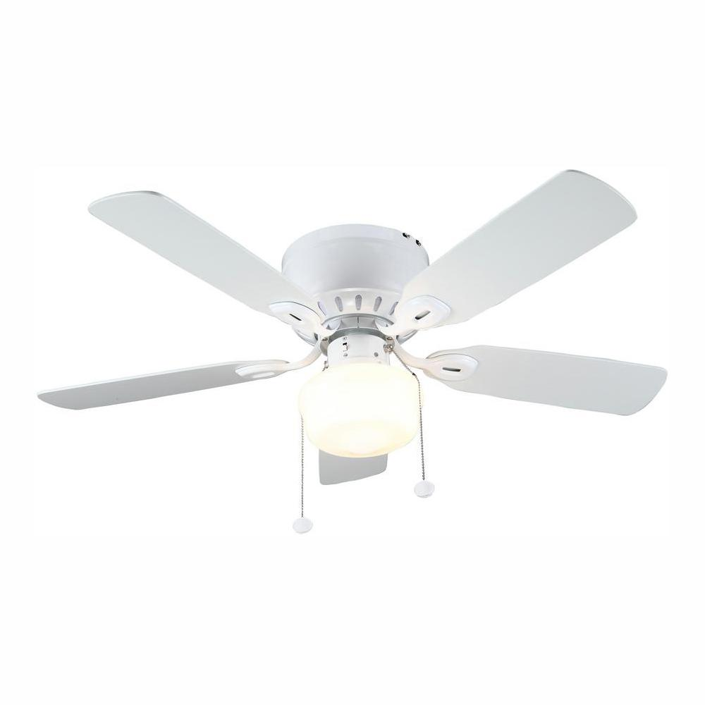 hight resolution of led indoor white ceiling fan with light kit