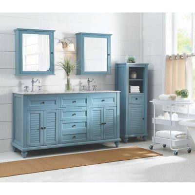 Blue Bathroom Vanities Bath The Home Depot