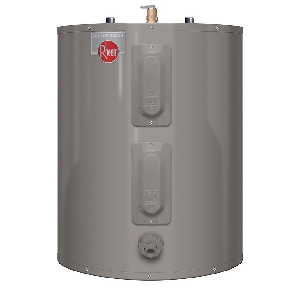hight resolution of rheem performance 47 gal short 6 year 4500 4500 watt elements electric tank