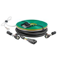 curt custom towed vehicle rv wiring harness 58945 the home depot bushtec wiring harness custom towed [ 1000 x 1000 Pixel ]