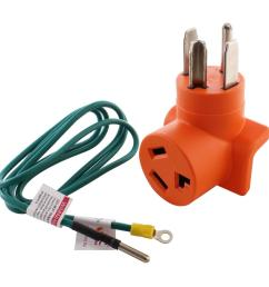 ac works dryer outlet adapter 4 prong dryer 14 30p plug to 30 amp 3ac works [ 1000 x 1000 Pixel ]