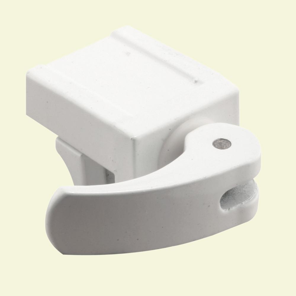hight resolution of prime line white vinyl diecast security window sash lock