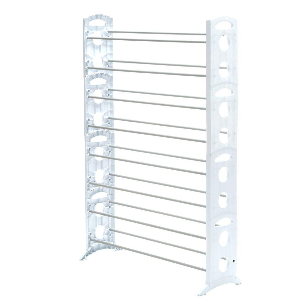 Whitmor Shoe Rack Collection 3531 in x 6224 in 50Pair