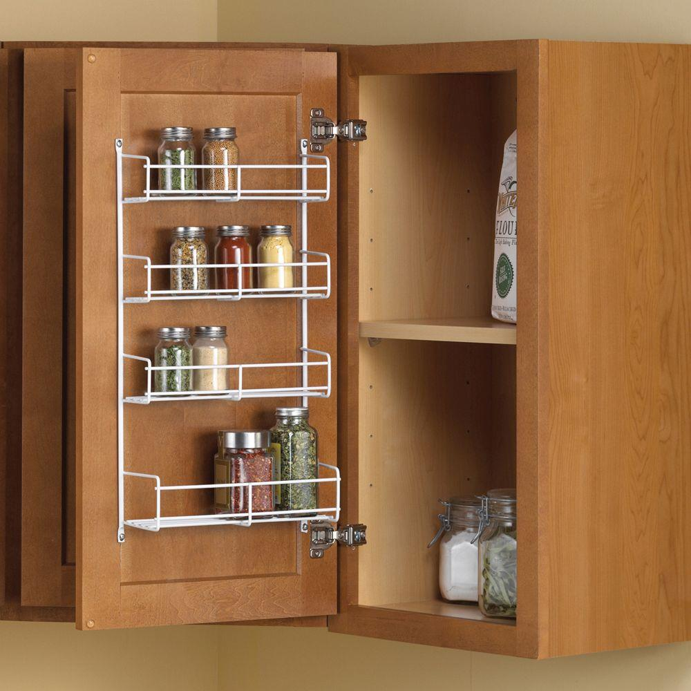 kitchen spice rack discount granite countertops real solutions for life 11 25 in x 4 69 20 door