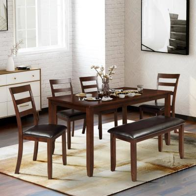 Brown Dining Room Sets Kitchen Dining Room Furniture The Home Depot