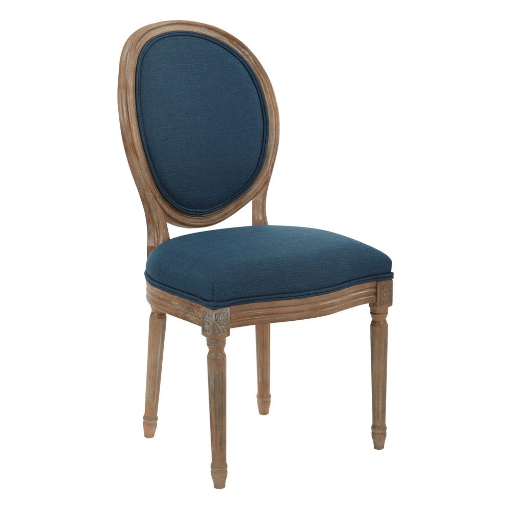 Ave Six Lillian Oval Back ChairLLAK14  The Home Depot