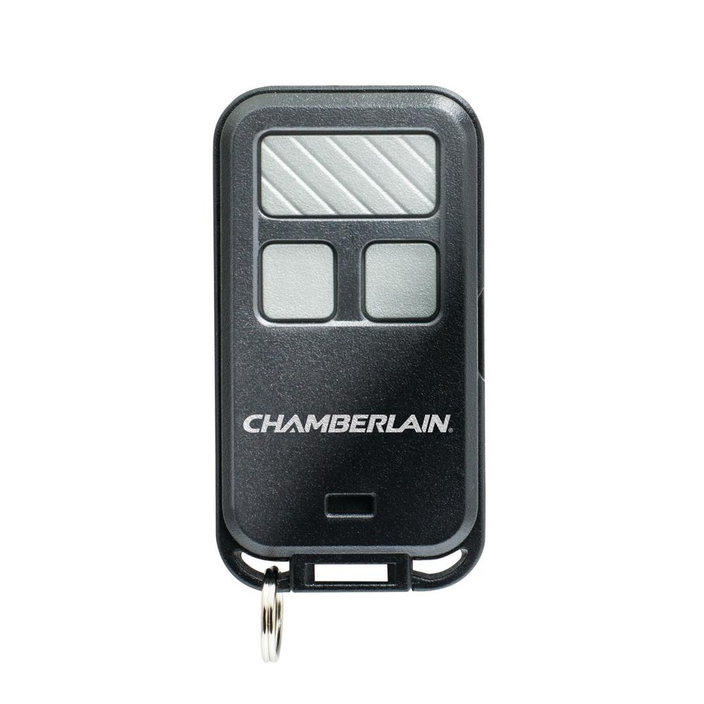 hight resolution of chamberlain 3 button keychain garage door remote control