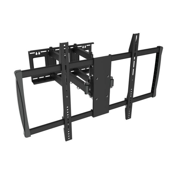 Tygerclaw Full Motion Wall Mount 60 In. - 100 Flat Panel Tv-lcd3482blk Home Depot