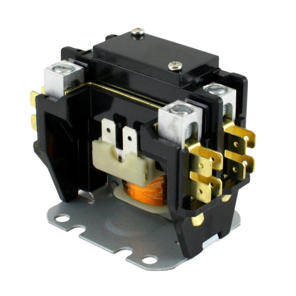 medium resolution of 24 volt coil voltage f l amp 30 pole 1 40 amp definite purpose contactor
