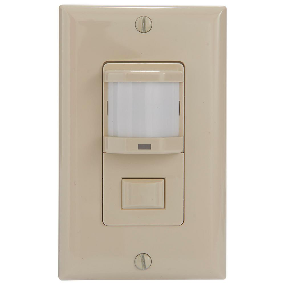 medium resolution of intermatic ios series 500 watt pir vacancy occupancy sensor switch residential in wall
