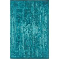 nuLOOM Vintage Inspired Overdyed Turquoise 4 ft. x 6 ft ...