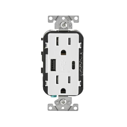 small resolution of leviton 15 amp tamper resistant combination switch and outlet white r62 t5225 0ws the home depot