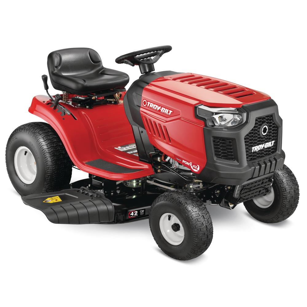 hight resolution of troy bilt pony 42 in 17 5 hp manual drive briggs stratton gas lawn