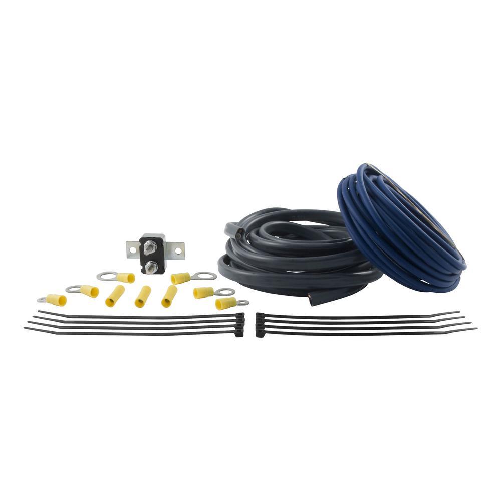 medium resolution of curt brake control wiring kit duplex wire crosslinked wire 30 amp circuit breaker terminals connectors and